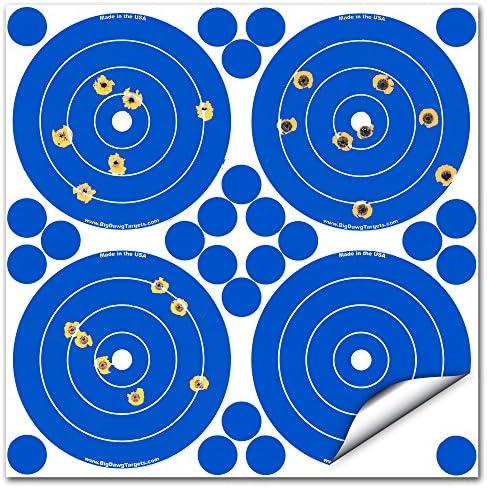 Adhesive Reactive Splatter Shooting Target