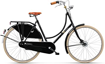 BATAVUS Old Dutch Deluxe - Bicicleta holandesa para mujer, 28 ...