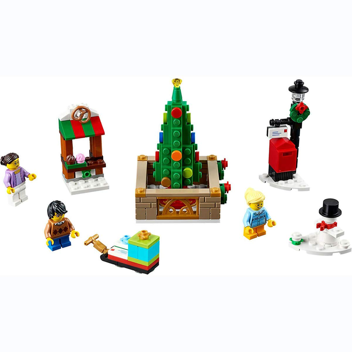 LEGO Christmas 40263 - EXC Piazza of Cities: Amazon.co.uk: Toys & Games