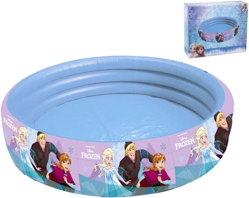 Giovas-Juguete Inflable de la Piscina de Frozen, Multicolor (GIM ...