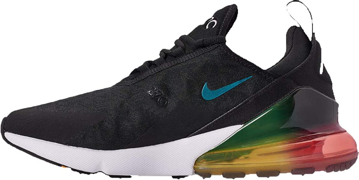 d837ec174a Nike Nike Air Max 270 Se Men'S Shoe - black/black-laser orange-ember ...
