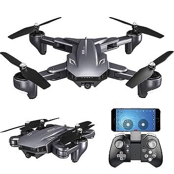 Goolsky VISUO XS816 Drone con Cámara 4K WiFi FPV Flujo óptico ...