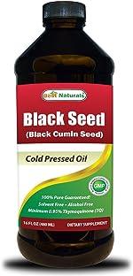 Best Naturals Black Seed Oil 16 OZ - Cold Pressed -