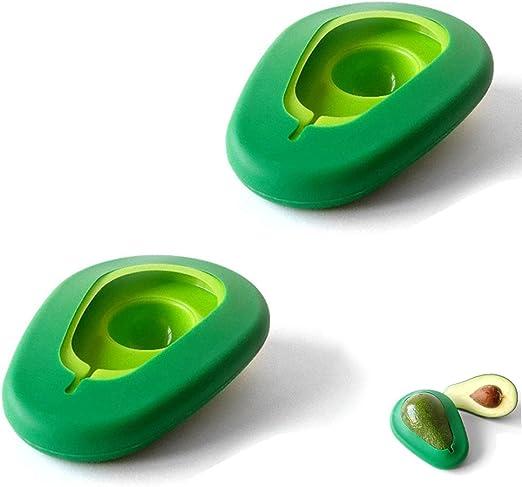 JUSTDOLIFE 4 Piezas Ahorrador De Aguacate Reutilizable Almacenamiento De Aguacate Gadget para Cocina Hogar