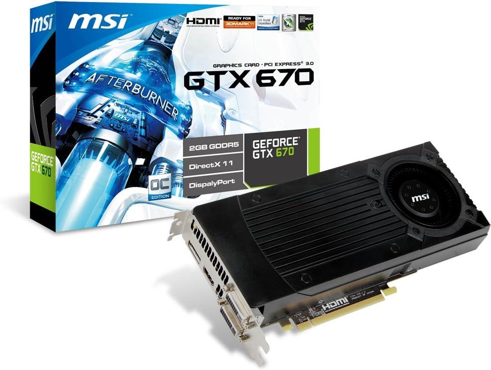 Amazon.com: MSI Computer Corp. N670GTX-PM2D2GD5/OC Graphics ...