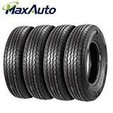 #8: ST205/75R14 MaxAuto Radial Trailer Tires ST205/75R-14 8Ply(Pack of 4)