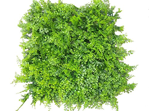 e-joy 24 Piece Cover 66 sq. ft. Artificial Topiary Hedge Plant Privacy Fence Screen Greenery Panels for Both Outdoor or Indoor, Garden or Backyard Decorations, Style B by e-joy