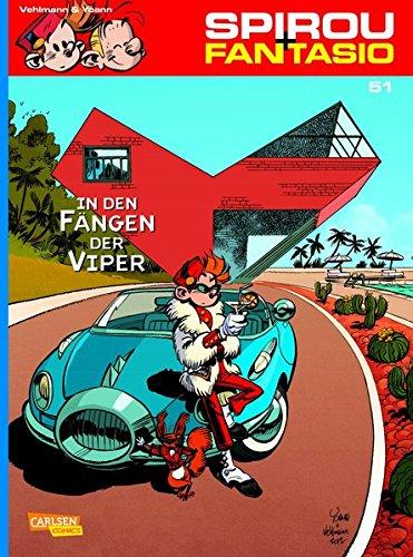 Spirou & Fantasio, Band 51: In den Fängen der Viper Taschenbuch – März 2013 Fabien Vehlmann Yoann Carlsen 3551774617