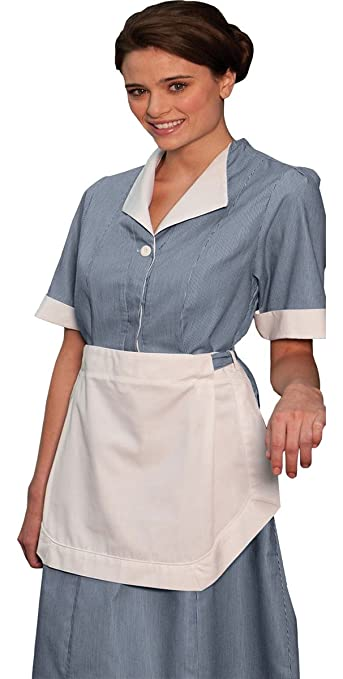 Pin Up Dresses | Pin Up Clothing Edwards Womens Junior Cord Housekeeping Dress TEAL A $42.42 AT vintagedancer.com