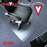 "Marvelux 47"" x 53"" Heavy Duty Polycarbonate Chair"