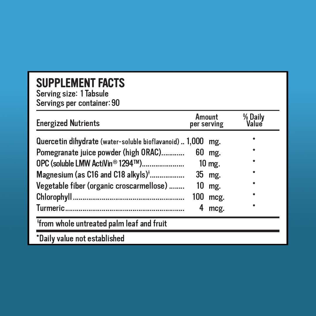Relieve Repair Quercetin Antioxidant Complex 90 Tabs