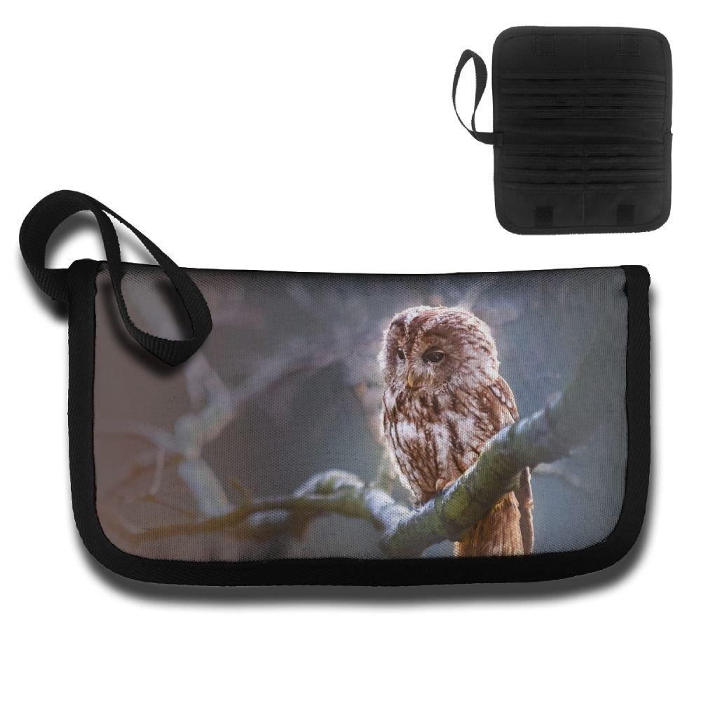 Gili Drowsy Owl Travel Passport /& Document Organizer Zipper Case