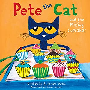 Pete the Cat and the Missing Cupcakes Audiobook