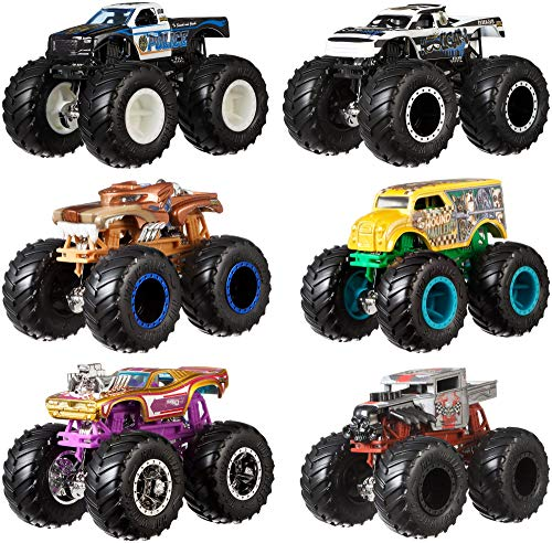 : Hot Wheels Monster Demo Doubles Trucks 2 Pack - Styles May Vary
