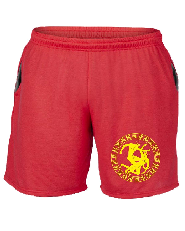 Speed - Pantalón Corto de chándal Rojo TAM0214 MMA Lotta Greco ...