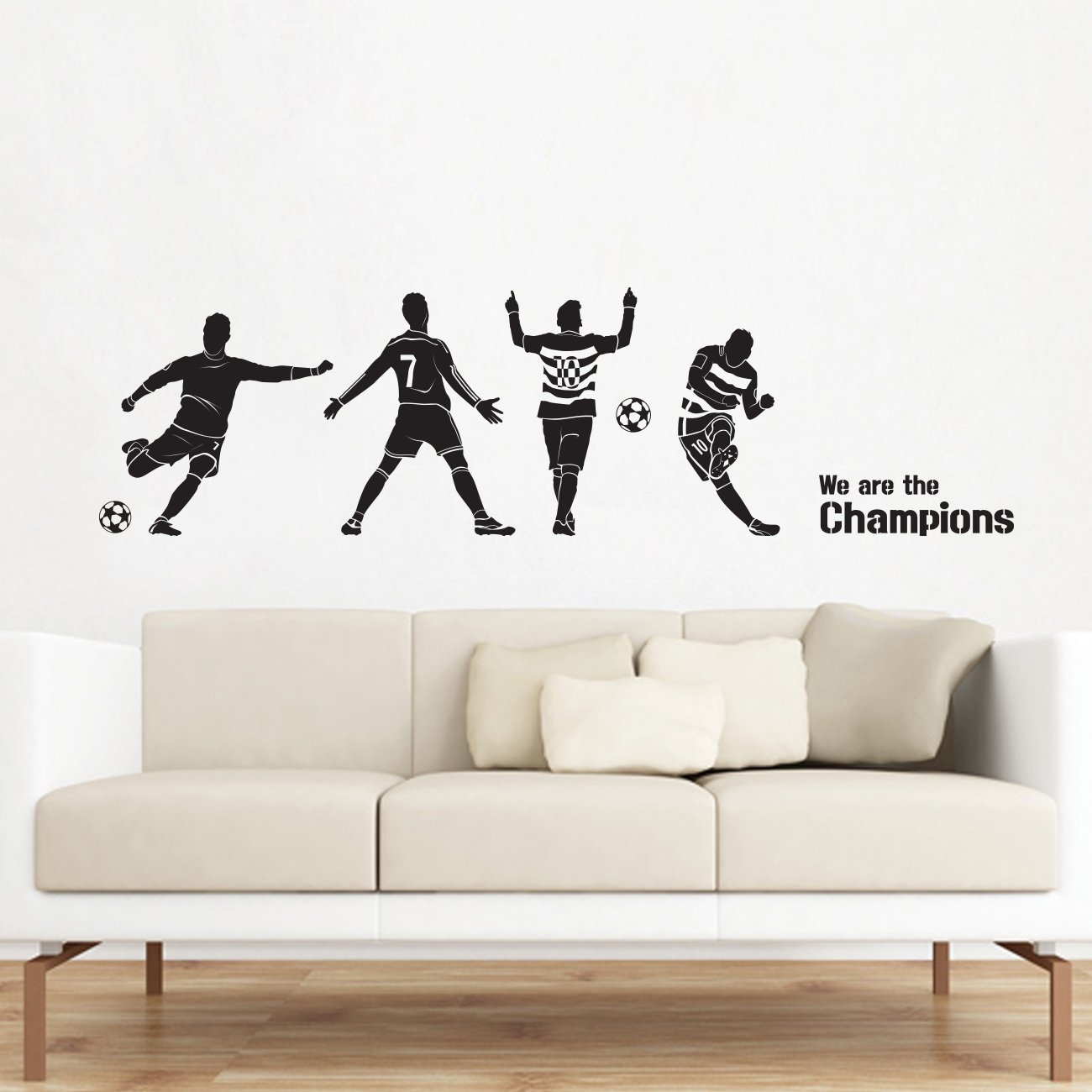 Amazon.com: Decowall DWG-606B Football Champions Graphic ...