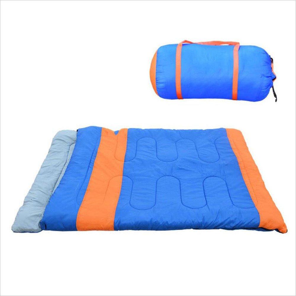 Maybesky Al Aire Libre Saco de Dormir Multifuncional para Dos Personas Saco de Dormir Momia: Amazon.es: Deportes y aire libre