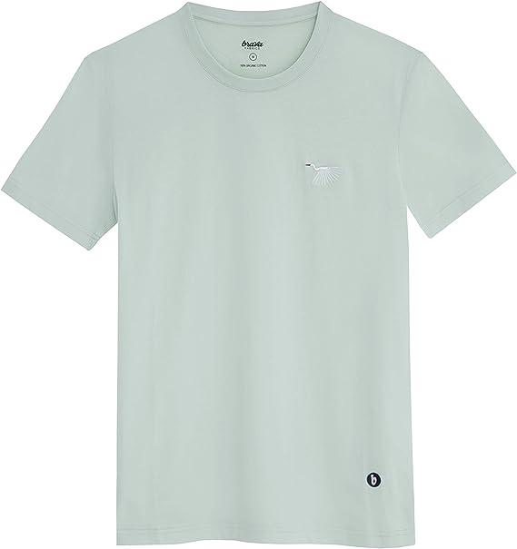 Brava Fabrics - Camiseta Hombre - Camiseta para Hombre - 100 ...
