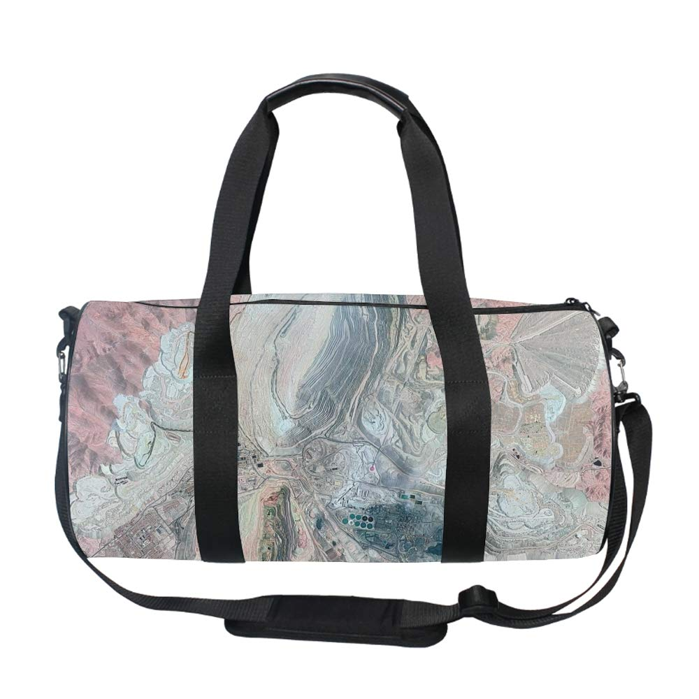 20 Liters One Size From Space Camouflage Barrel//Duffel Bag