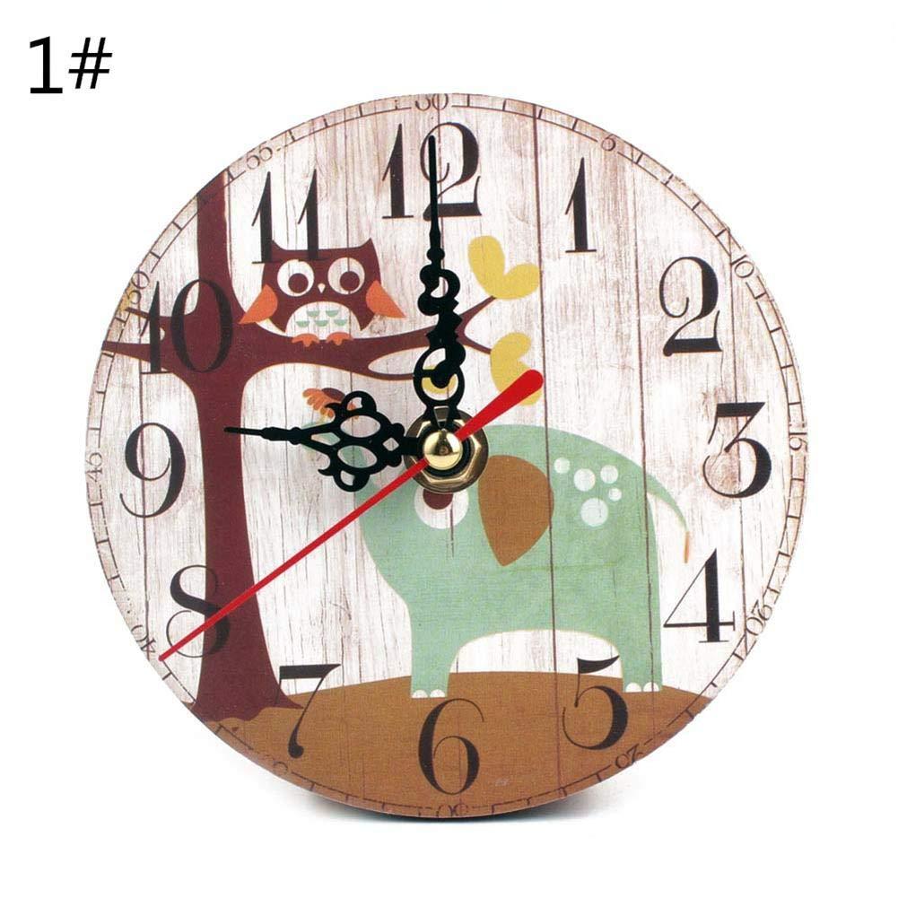 8 options Alarmes Horloge, horloge murale silencieuse - Horloge de jour de perte de mé moire Calendrier numé rique Horloge de jour, Horloge numé rique extra-longue non abré gé e jour et mois SAWEY