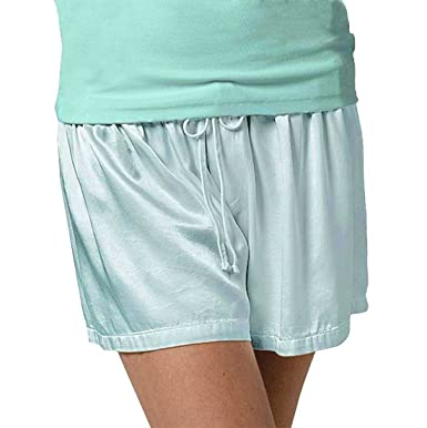PJ Harlow Women s Mikel Satin Boxer Short with Draw String - PJSB5 ... dea6b52cc
