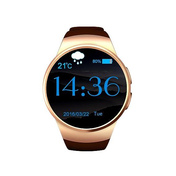 Amazon.com: KW18 Smart Watch MTK2502 Heart Rate Monitor ...