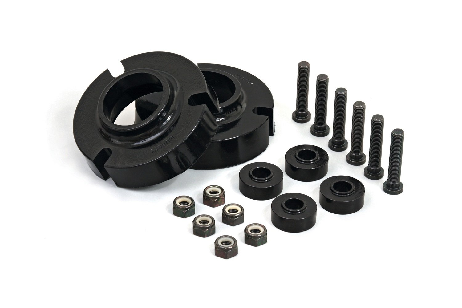 Daystar, Toyota Tacoma 1' Leveling Kit, fits Tacoma, 4 Runner and Tundra 1995.5 to 2006 2/4WD, all transmissions, all cabs KT09105BK, Made in America, Black Toyota Tacoma 1 Leveling Kit