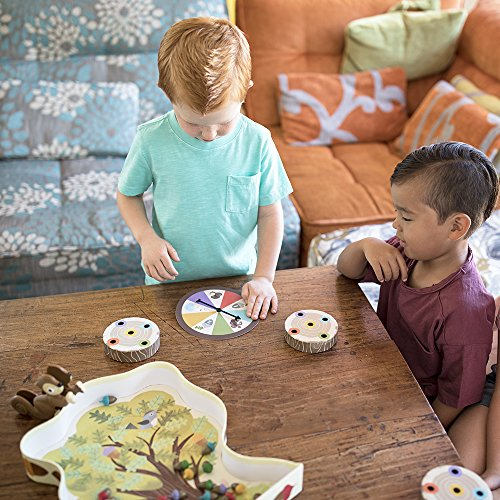 Educational Insights The Sneaky, Snacky Squirrel Game for Preschoolers & Toddlers, Color Recognition, Fine Motor Skills…