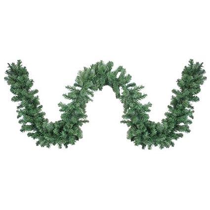 darice 9 x 10 colorado pine artificial christmas garland unlit - Green Christmas Garland