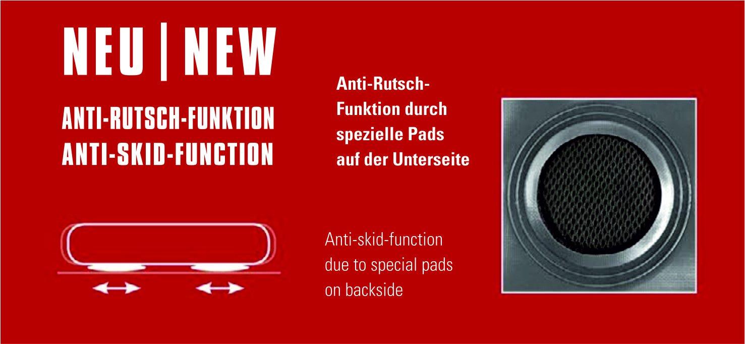 Unisex Adulto High Peak 40045 Cama Hinchable 210 x 140 x 20 cm Gris Claro//Azul