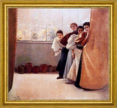 escondidas-by-cecilio-pla-y-gallardo-15-x-15-framed-premium-canvas-print