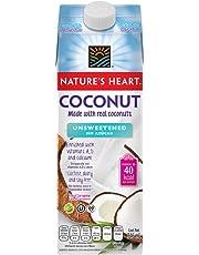 Nature's Heart Bebida de Coco sin Azúcar, 946 ml
