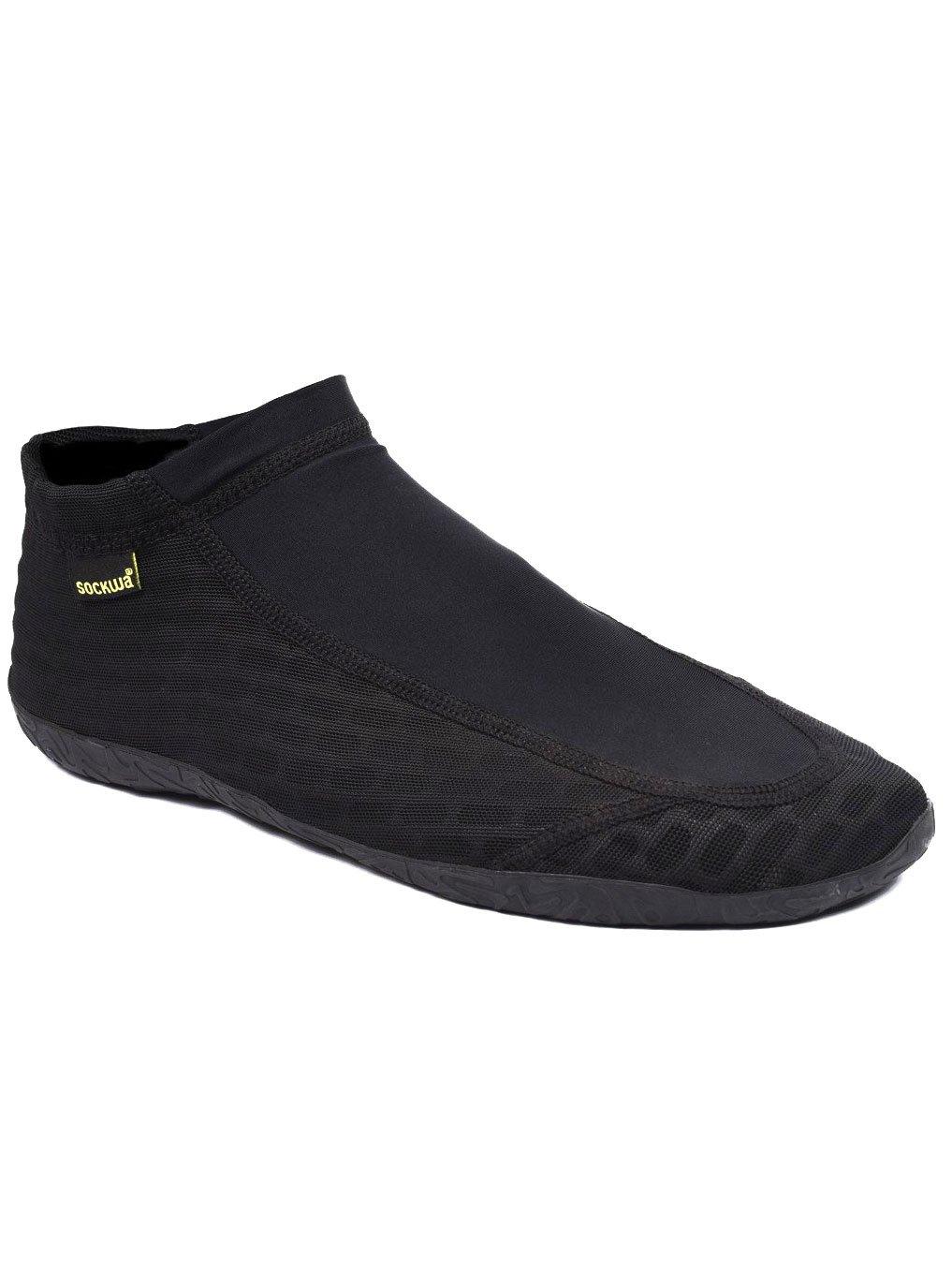 Sockwa X8 Breathable Barefoot Shoes B00F3KEN28 W6/M5|Black