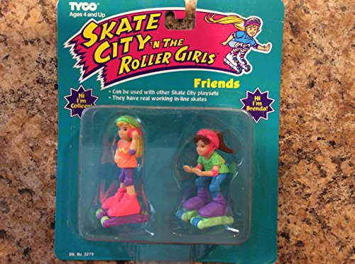 (Skate City n the Roller Girls Friends , Colleen and Brenda)
