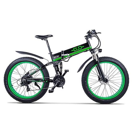 Huaeast Bicicleta eléctrica de montaña, 26