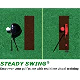Steady Swing Golf Training Aid - Instantly reveals head movement!