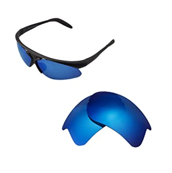 bd4294a113 Walleva Replacement Lenses for Bolle Vigilante Sunglasses - Multiple  Options Available (Ice Blue - Polarized