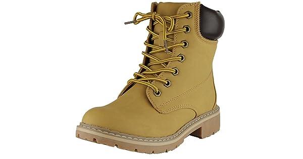 fa2307a2b99 Cambridge Select Women s Work Combat Military Mid Calf Lug Sole Boot