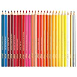Prang Thick Core Colored Pencils, 3.3 Millimeter