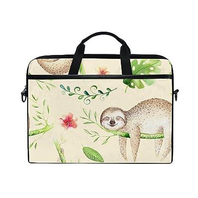 AHOMY Cartoon Baby Sloth Tree 15 Inch Laptop Shoulder Sleeve Messenger Bag Case 60%OFF