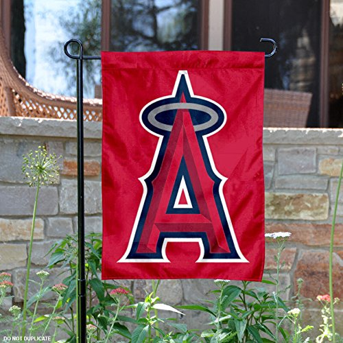 Angels Car Flag (MLB Los Angeles Angels Sports Team Logo Garden/Window Flag 15