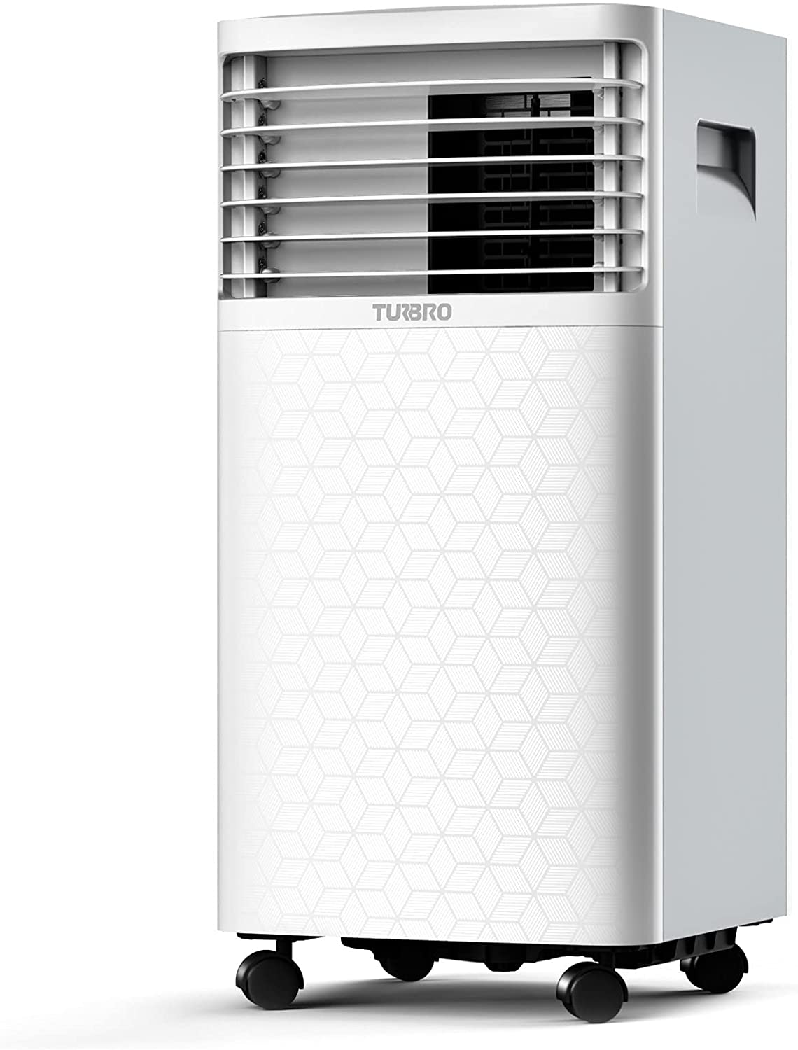 TURBRO Greenland 10,000 BTU Portable Air Conditioner, Dehumidifier and Fan, 3-in-1 Floor AC Unit for Rooms up to 400 Sq Ft, Sleep Mode, Timer, Remote Included