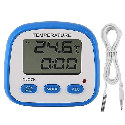 JJZXT Nevera termómetro del congelador de Alta a Baja Temperatura ...