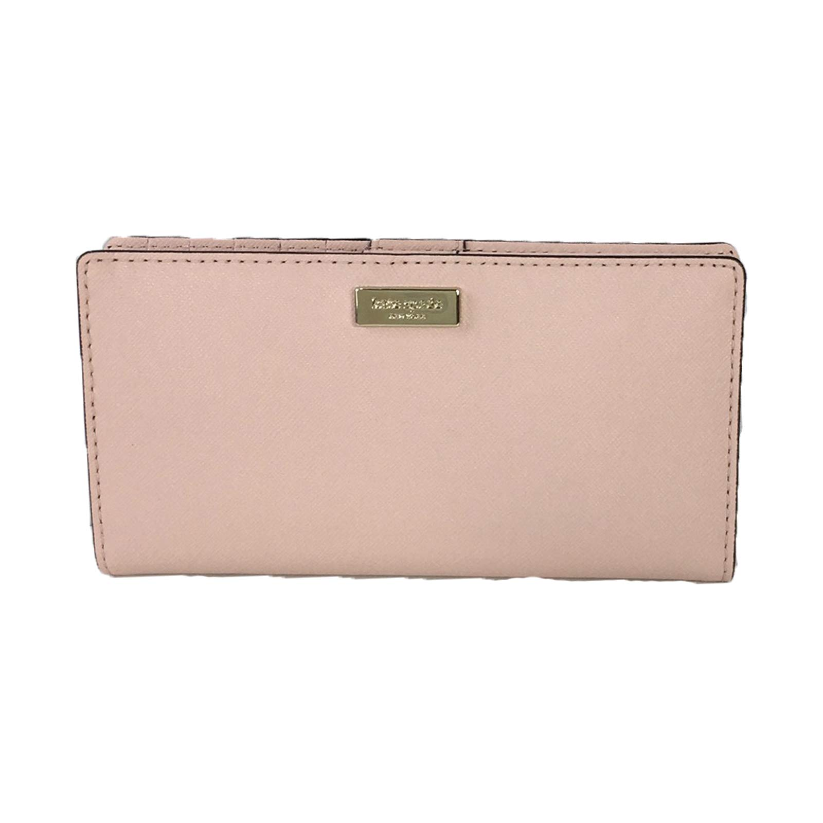 Kate Spade Laurel Way Leather Stacy Bifold Wallet, Warm Vellum Pink