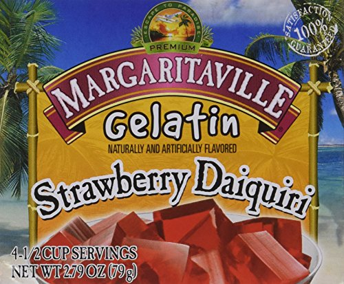 (Margaritaville Gelatin Strawberry Daquiri 2.79oz (4 Pack))