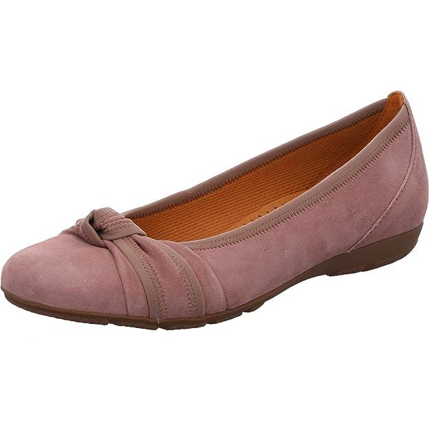 Damen Schuhe Sneaker Gabor Stiefelette rosa Leder (Gummi