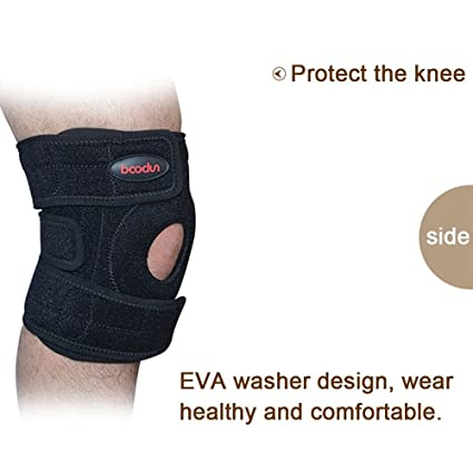 463d2b3107 Pawaca Sports Knee Pads Brace Support Protect Cycling Knee Protector,  Adjustable Strapping Breathable Neoprene Sleeve