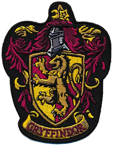 [Patch Squad Men's Harry Potter GRYFFINDOR/ Ravenclan Embroidered Patch (Gryffindor2)] (Ron And Hermione Costumes)