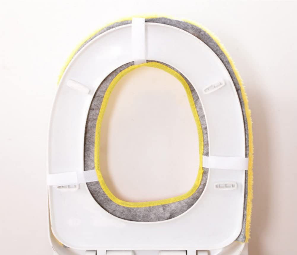 TREESTAR calentador de asiento de inodoro cover cute cartoon animal Closestool para ba/ño lavable coj/ín