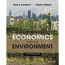 Amazon stephen polasky books economics and the environment by eban s goodstein 2014 01 21 fandeluxe Choice Image